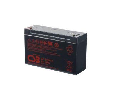 BATTERIE PLOMB CSB 6V 12AH GP6120