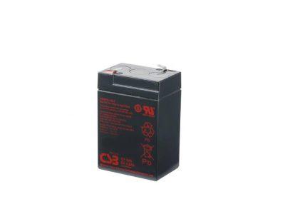 BATTERIE PLOMB CSB 6V 4,5AH GP645
