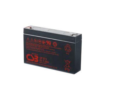 BATTERIE PLOMB CSB 6V 7,2AH GP672