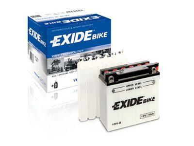 EXIDE MOTO EB30L-B AVEC ENTRETIEN 12V 30AH