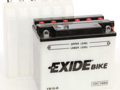 EXIDE MOTO EB16-B AVEC ENTRETIEN 12V 19AH